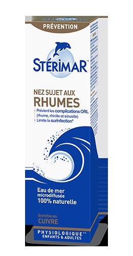 packaging nez sujet aux rhumes - stérimar