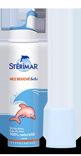 spray nasal nez bouché bébé - stérimar